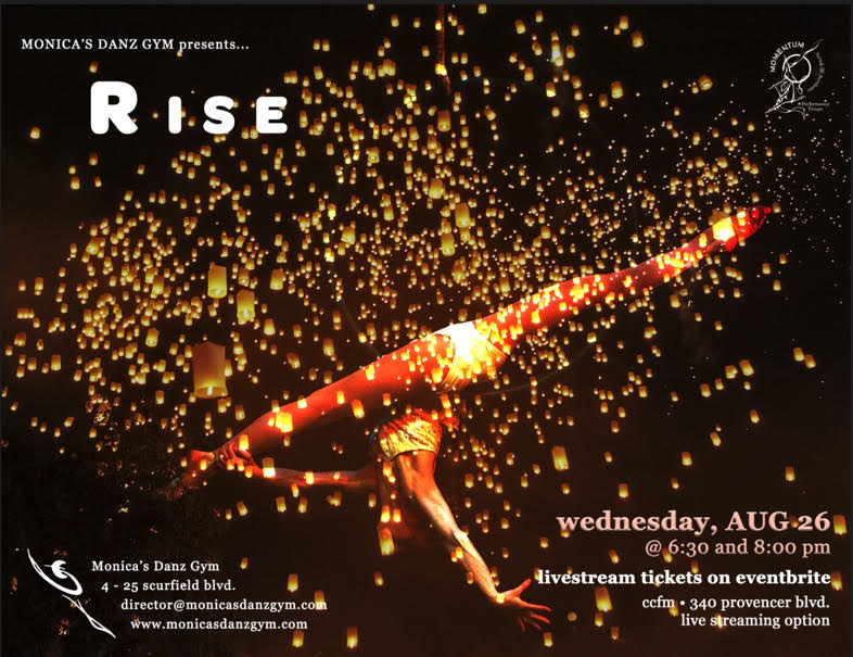 Join us for Rise – Wed Aug 26
