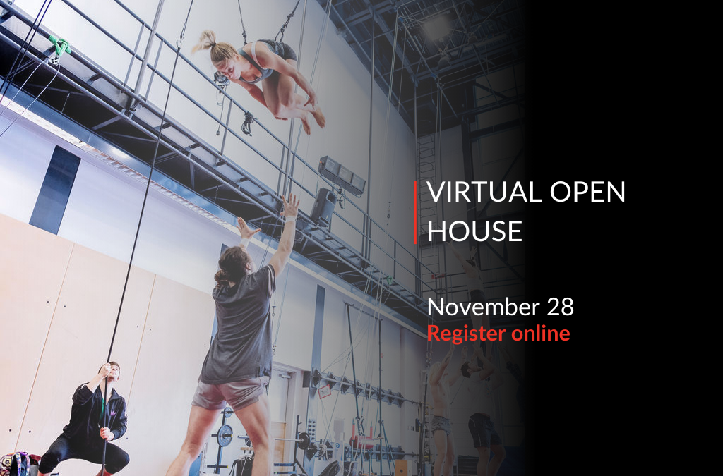 National Circus School – Virtual Open House Nov 28
